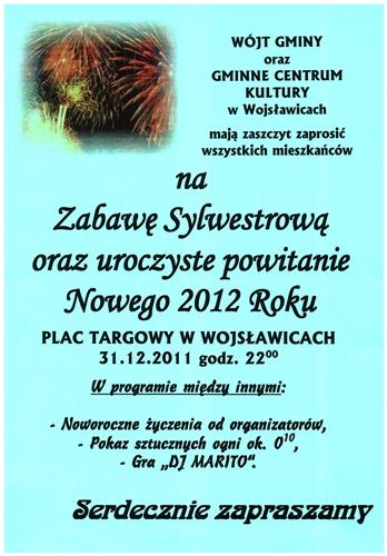 Zabawa Sylwestrowa